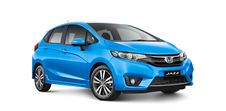 paphos car rentals honda jazz blue